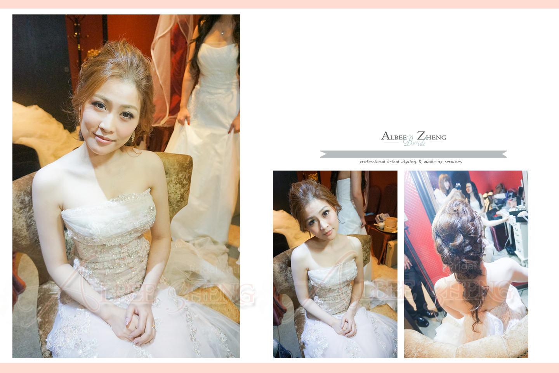 ღ◦° 新娘造型 ஃஜ En Chen's Wedding