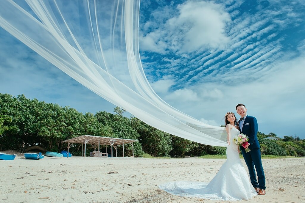【Pre Wedding】。沖繩海外婚紗