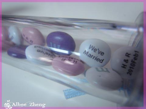 關於婚禮小物 ~ LOVE M&M'S